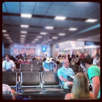 Photo taken at Concourse D by Mark C. on 6/16/2012