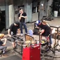 Photo taken at The Hot Shop at the Museum Of Glass by Seth S. on 7/9/2012