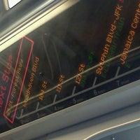 Photo taken at MTA Subway - J Train by Wattz P. on 8/16/2012