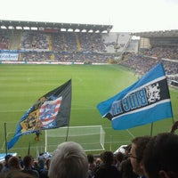 Photo taken at Club Brugge K.V. by Pascal D. on 9/2/2012