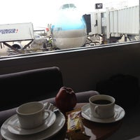 Photo taken at Korean Air Lounge by Jay J.J. H. on 5/5/2012