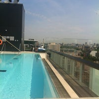 Photo taken at Thompson Rooftop Lounge by Catherine M. on 6/16/2012