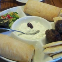 Photo taken at Ammos Authentic Greek Cuisine by Onyx 1. on 9/13/2012