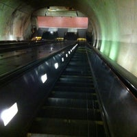 Photo taken at Tenleytown-AU Metro Station by Frankie on 7/8/2012