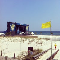 Photo taken at Chevrolet Stage at Hangout Music Fest by Peter G. on 5/17/2012