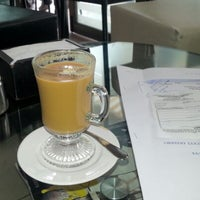 Photo taken at Cafe De La Avenida by sonia on 9/12/2012