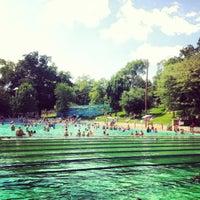 Photo taken at Deep Eddy Park by Cliktrips (Jen Amadio) on 6/16/2012