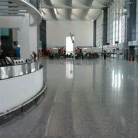 Photo taken at Kempegowda International Airport (BLR) by sachin v. on 4/9/2012