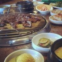 Photo taken at Shin Chon Garden Restaurant by Hiro on 6/1/2012