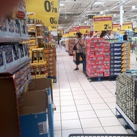 Photo taken at Carrefour by Miguel on 7/21/2012