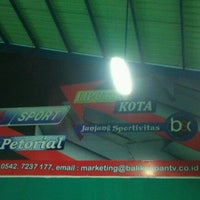 Photo taken at Balikpapan Sport Centre by Andrew G. on 2/7/2012
