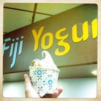Photo taken at Fiji Yogurt by Randy B. on 2/11/2012