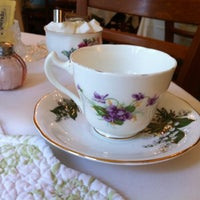 Photo taken at Teaberry's Tea Room by Emma S. on 7/17/2012