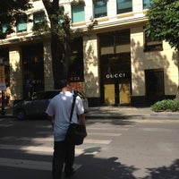 Photo taken at Gucci Hanoi by Benjaporn T. on 5/8/2012