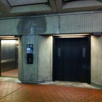 Photo taken at Friendship Heights Metro Station by Teri C. on 5/16/2012