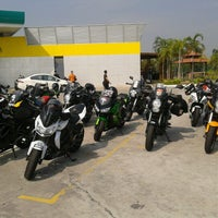Photo taken at PETRONAS Station UTP by Ahmad R. on 7/1/2012