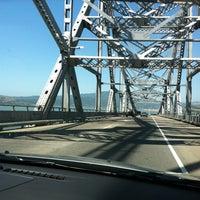 Photo taken at Richmond-San Rafael Bridge by Cindy O. on 5/31/2012