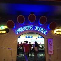 Photo taken at Cosmic Bowl by Tun Teja T. on 4/14/2012