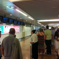 Photo taken at Arrivals by Geert V. on 8/19/2012