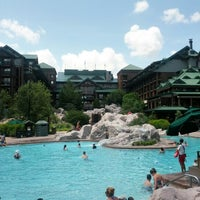 Photo taken at Disney's Wilderness Lodge by Orlando Informer on 9/1/2012