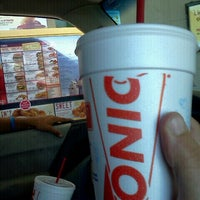 Photo taken at SONIC Drive In by Sarah S. on 4/17/2012