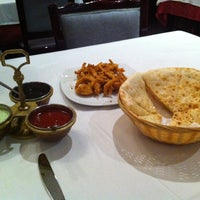 Photo taken at Indian Restaurant Shanti by Emma R. on 8/24/2012
