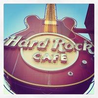 Photo taken at Hard Rock Cafe Memphis by Joe M. on 3/18/2012