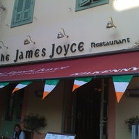 Photo taken at The James Joyce Irish Pub & Restaurant by Laura C. on 3/17/2012