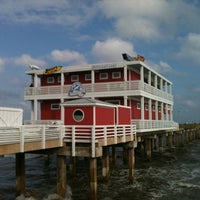 Photo taken at Jimmy's On The Pier by Robin A. on 4/13/2012