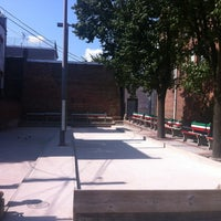 Photo taken at Little Italy Bocce Court by joezuc on 8/20/2012
