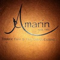 Photo taken at Amarin Thai Restaurant by Katrin on 5/23/2012