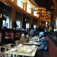 Photo taken at The Cheesecake Factory by Leigh J. on 4/1/2012