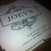 Photo taken at Joey's by @kdeamat ™. on 3/8/2012