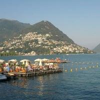 Photo taken at Lago di Lugano by T B. on 8/18/2012