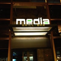 Photo taken at Media Grill + Bar by Marcus on 8/25/2012