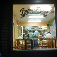 Photo taken at Thomas Sweet Ice Cream by Omar A. on 9/2/2012