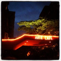 Photo taken at Arte Cafe by Pete L. on 5/23/2012