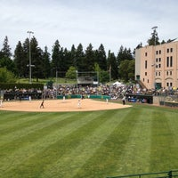 Photo taken at Howe Field by Cameron C. on 5/19/2012