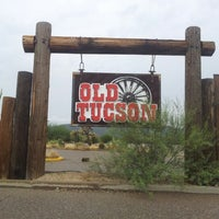 Photo taken at Old Tucson by Vip S. on 9/11/2012