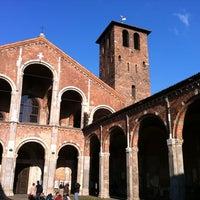 Photo taken at Basilica di Sant'Ambrogio by Alessandro L. on 3/19/2012