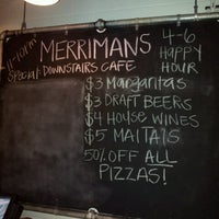 Photo taken at Merriman's Gourmet Pizza & Burgers by Bob K. on 6/30/2012