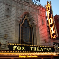 Photo taken at The Fabulous Fox by Lesley on 8/30/2012