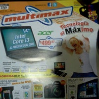 Photo taken at Multimax by Malena J. on 9/6/2012
