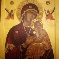 Photo taken at Saydet El Zalzale Church by Tony A. on 8/14/2012