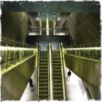 Photo taken at Kongens Nytorv St. (Metro) by Gene V. on 6/11/2012