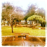 Photo taken at Praça Coronel Porfirio de Brito by Júnior D. on 4/4/2012
