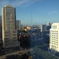 Photo taken at Loews Atlanta Hotel by Jeffrey C. on 9/1/2012