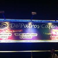 Photo taken at De Patros Café by Rakhmat R. on 8/29/2012