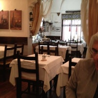 Photo taken at Osteria La Traviata by Laura R. on 4/4/2012