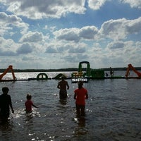Photo taken at Holiday Shores Water Playground by Chrissy on 6/20/2012